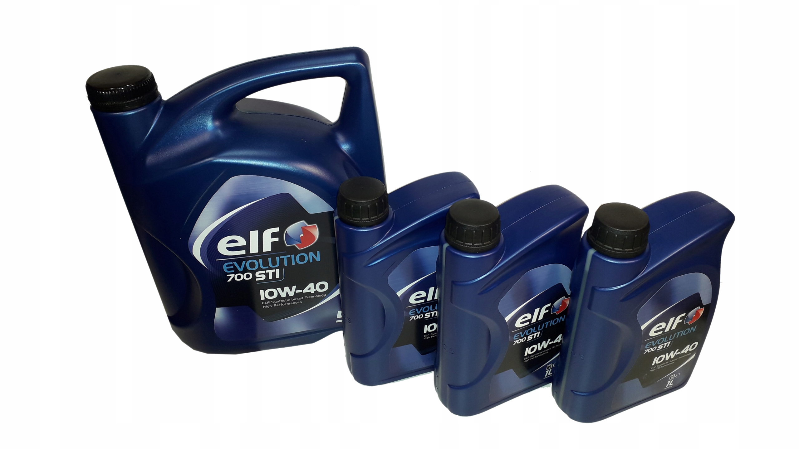 OLEJ ELF EVOLUTION 700 STI 10W40 8L 5L + 3X 1L